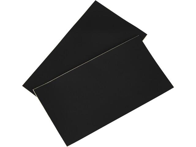 CAMPZ Parches Reparadores PVC 2 Piezas, negro